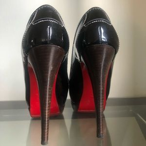 Christian Louboutin Wooded Vintage Heel